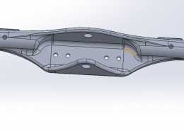SolidWorks axel