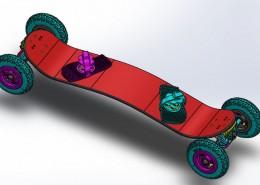 SolidWorks mountain board