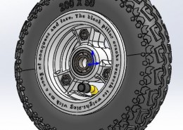 Solid Works wheel