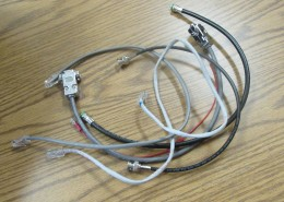 Various hand made wires