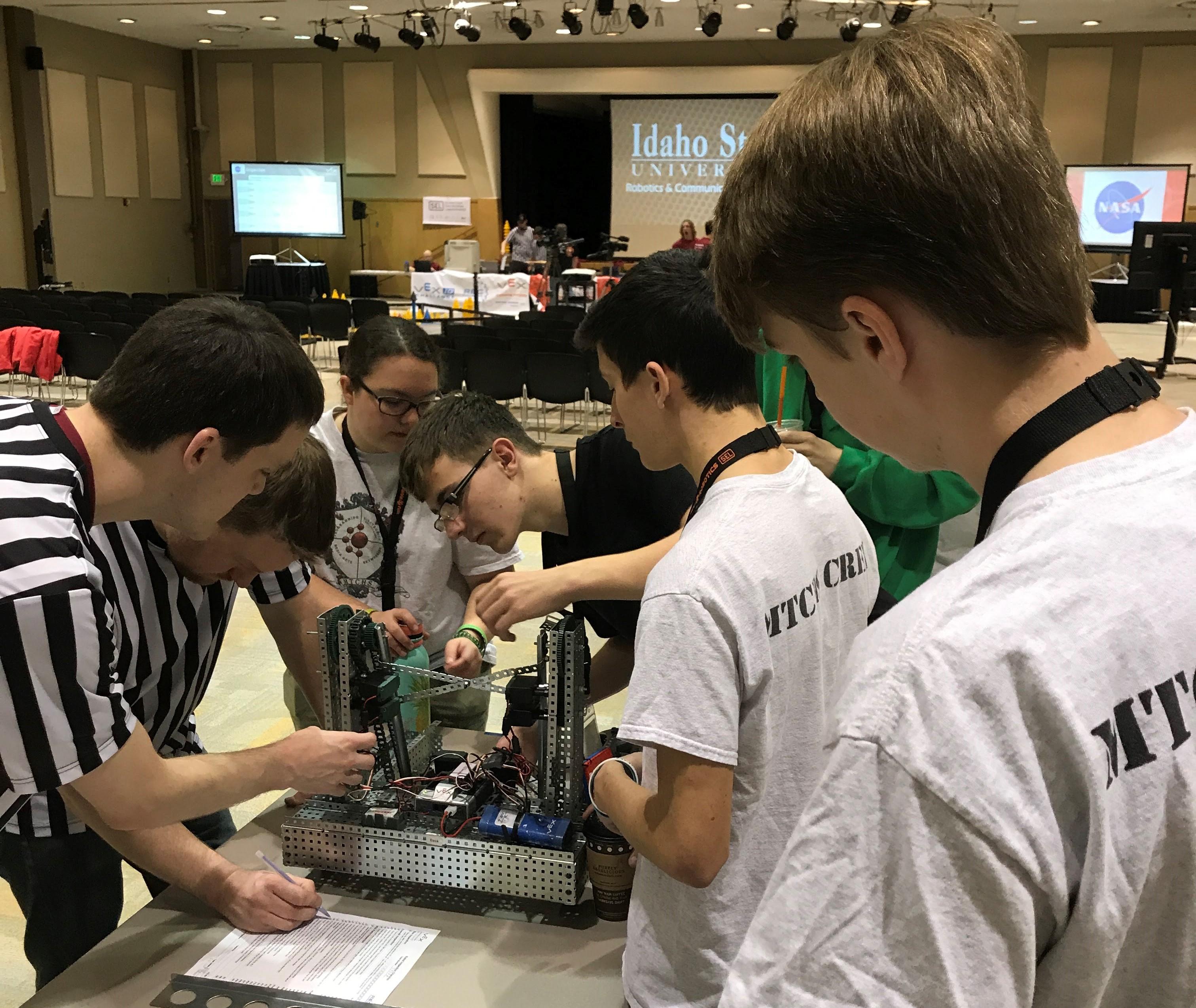 VEX Robotics competes at ISU